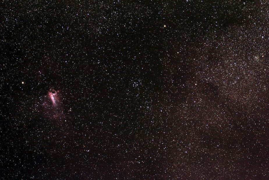M17 and M24, wide field