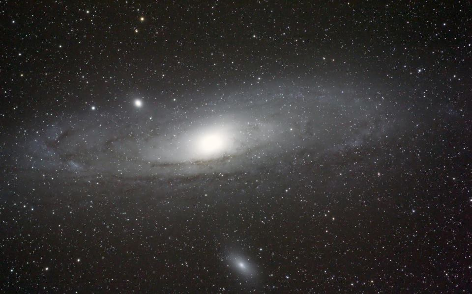 M31. The Andromeda Galaxy.