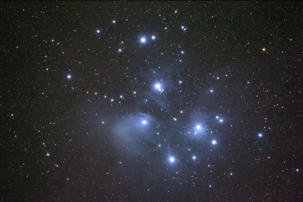 M45, the Pleiades.