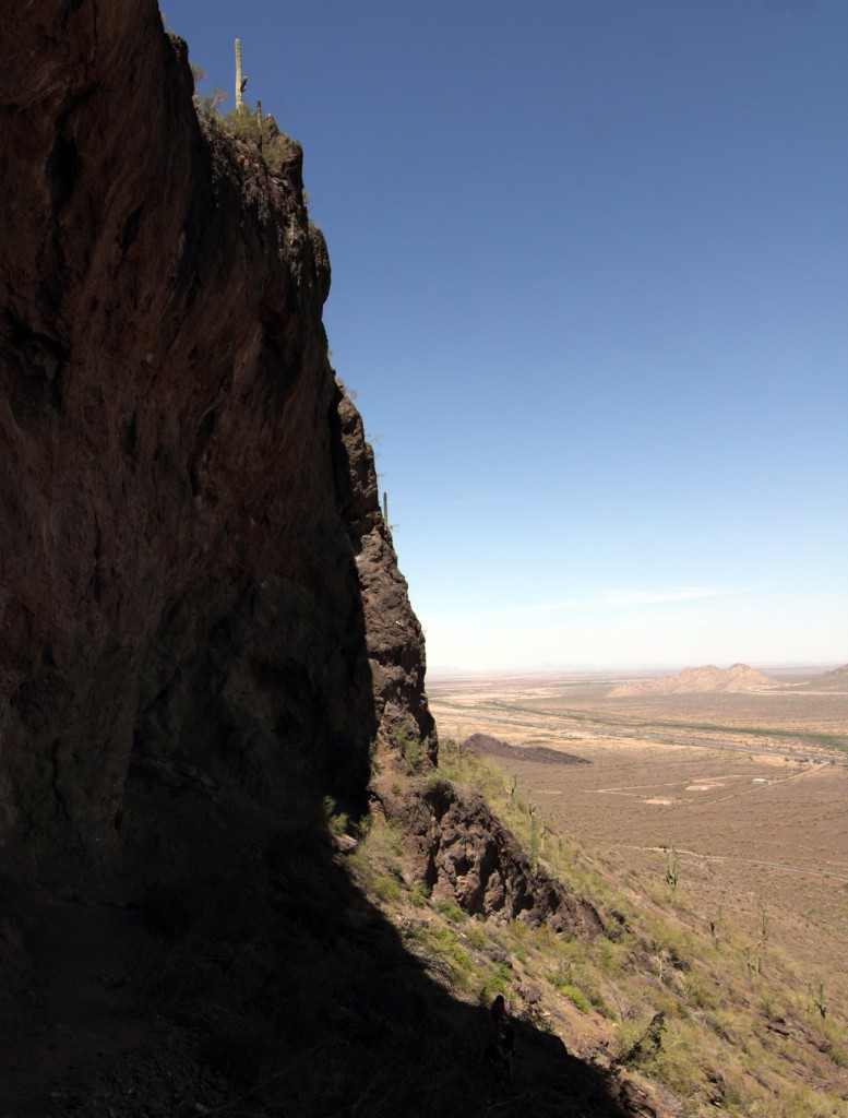 Picacho Peak Rock Wall